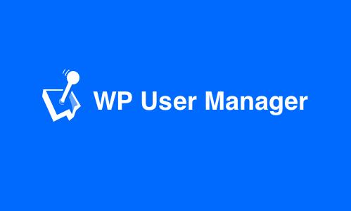 WP User Manager logo