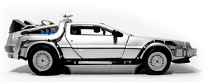 Cover image for DeLorean Ipsum